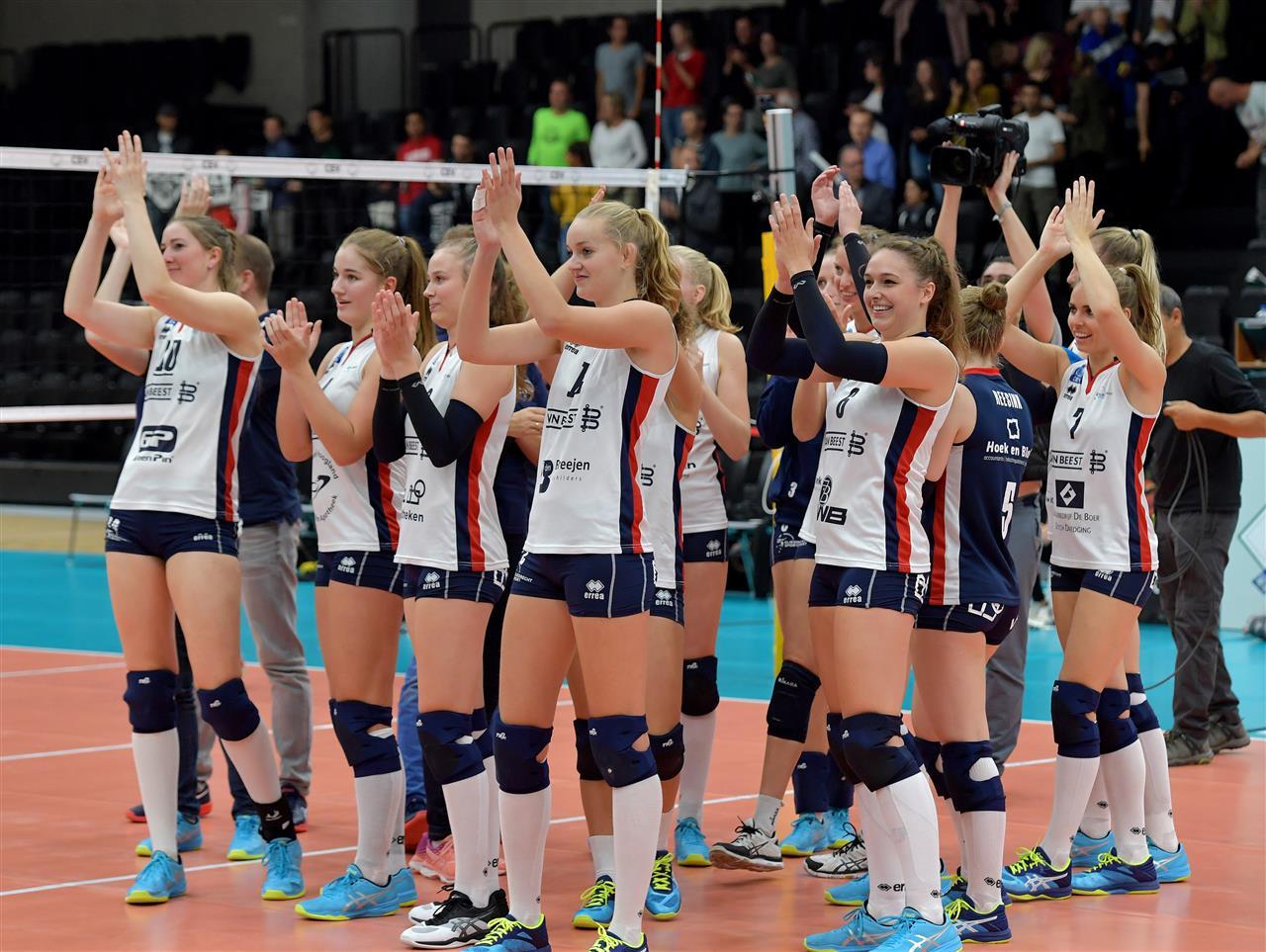 Makkelijke Zege Sliedrecht Sport Vizier Op Volleybal